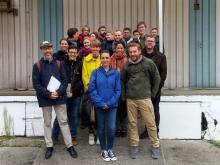 Visite du quartier Heyvaert avec les experts lillois