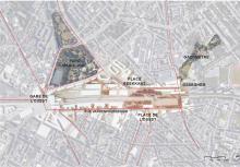 Gare de l'Ouest - intégration du projet dans le quartier