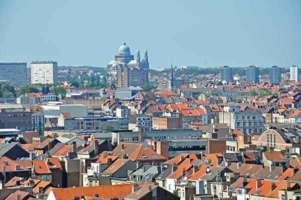 Vue de Bruxelles (Basilique de Koekelberg)