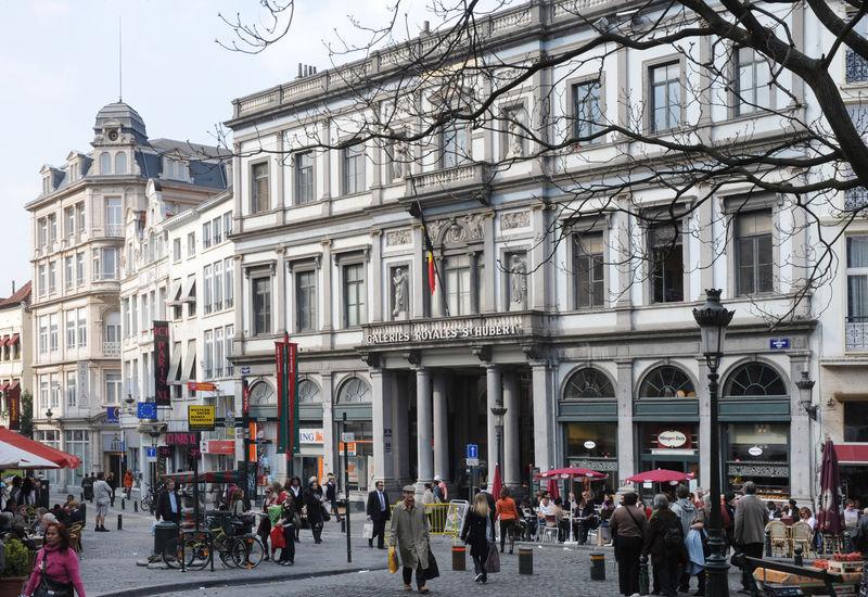 Galeries Royales Saint-Hubert (Extérieur)