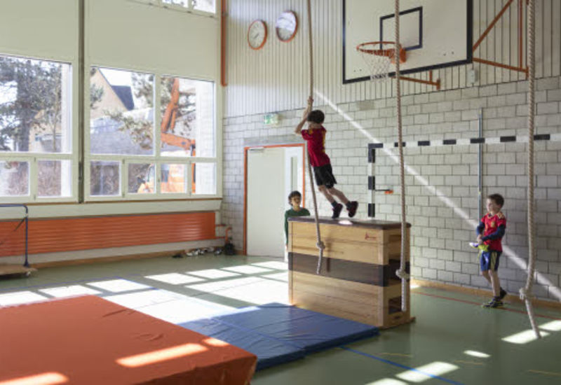 Ecole – salle de gym