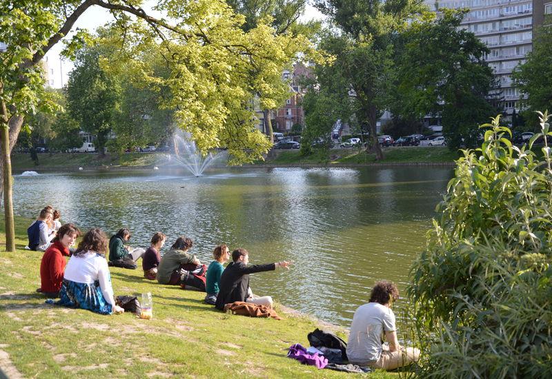 Les étangs d'Ixelles