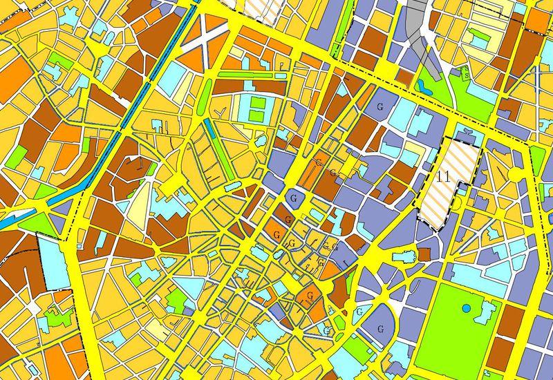 Extrait du plan Régional d'Affectation du Sol (PRAS)